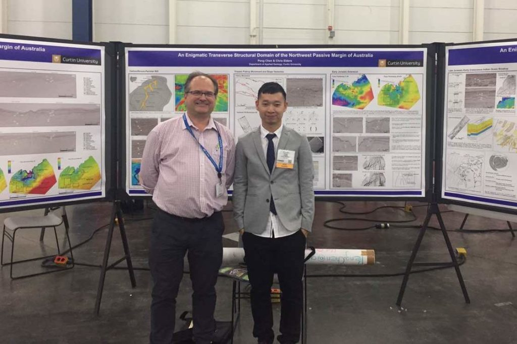 Peng Chen at AAPG Annual Convention and Exhibition