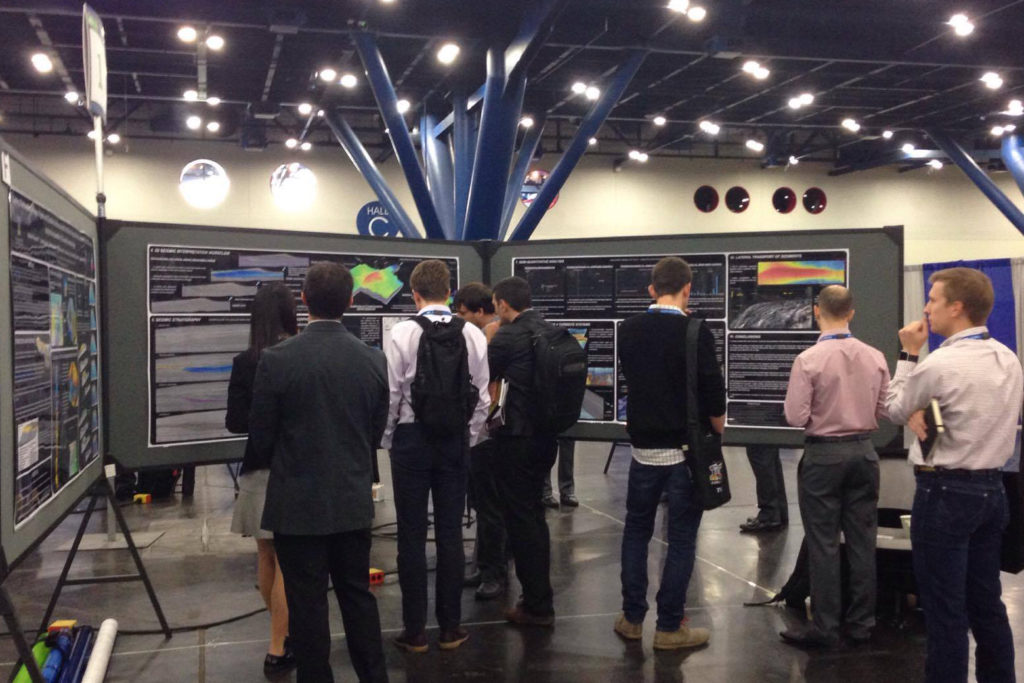 Victorien Paumard at AAPG Annual Convention and Exhibition